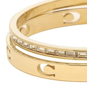 💕NEW💕 COACH BRACELET SIGNATURE GOLD CUT